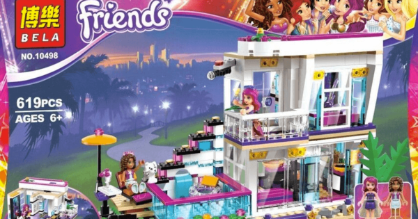 Lego Friends Livis Pop Star House Fun Jupijecom